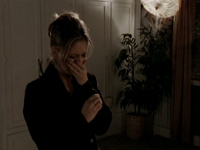 siku 7 [A BA moment wewe upendo for Buffy.] When she breaks down in <i>Innocence</i>. :(