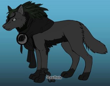 OK, well here&#39;s my wolf then...