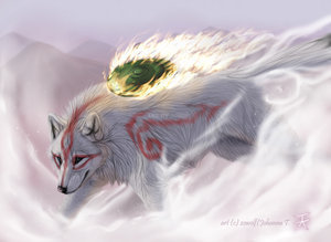 May I join? If so: Name: Amaterasu Gender: Female Rank: Lone loup Skills: Goddess of the Sun, Div