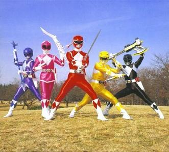 Day 13 - Favorite childhood show  Power Rangers