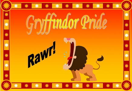 Yay, Gryffindor peoples!