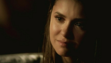 "New epic Delena quote from The Reckoning ""Where were you Damon?"" ""I shouldn't have left. I promise"