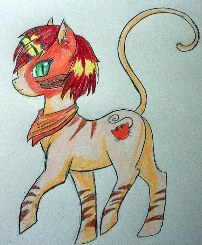 Как рисовать монстры хай пони