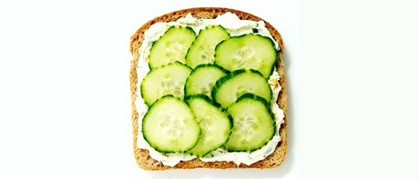 <b>Day Fifteen: Your Favorite Sandwich</b><br /> <br /> The Lundy Cucumber &amp; Cream Cheese.<br />