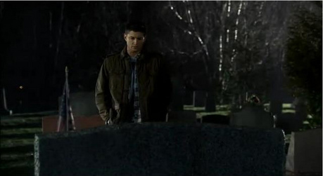 Day 7 - Your favorite Dean crying scene. Where he's in front of his father's grave, asking him why th