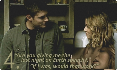 Day 18 - Your favorite SPN romance  Dean and Jo