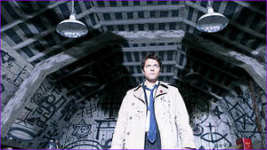 Day 21 - Your favorite character entrance  Castiel
