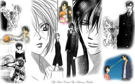 Ren and Kyouko from Skip Beat!