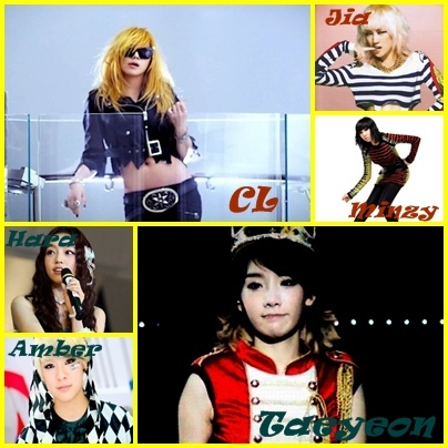 I'll make another! :D This is randomly Group: Powerful girls Members: Taeyeon(SNSD): Main vocalist,