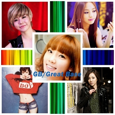 I want another aléatoire group.Here Group:GB/Great Base Members: Sunny(Lead Vocalist) Hara(Lead Dancer