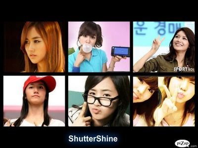 Group : ShutterShine Gayoon : Leader,Main Vocalist Tiffany : Lead Vocalist Yoona : Face Of The Gro