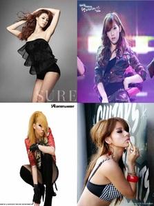 Group: T43 B35T (The Best) CL: Main Rapper Taeyeon: Main Vocalist, Face of the Group Lee Hyori: Main