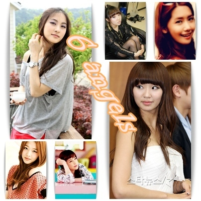 Name: 6 anges Members: Gyuri: Vocalist, Leader Hyorin: Lead vocalist, Sub-rapper Sulli: Vocalist,