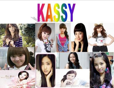 Group Name:Kassy IU-Leader,Lead Dancer,Lead Vocalist 2NE1 Bom-Main Vocalist,Sub-Dancer SNSD Jessic