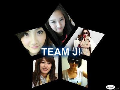Group name: T.J (Team J) Ji Hyun : Leader Ji Young : Main Dancer Jessica : Main Vocalist Ji Yoon : M