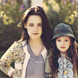 Rosalie's sister.Edward's Wife<3 or Jacob's girlfriend:p