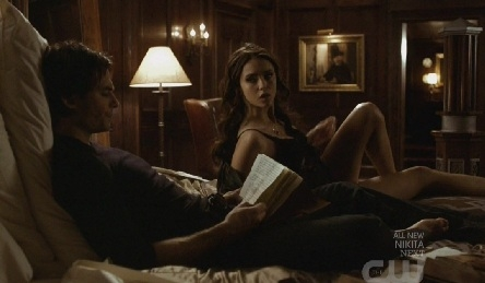 jour 27 – A scene that makes toi laugh Damon rejecting Katherine