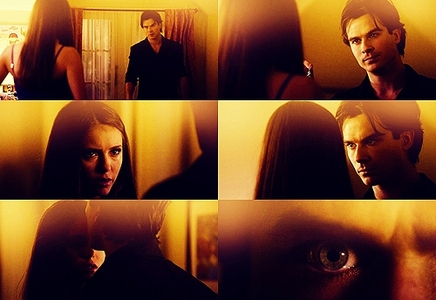 jour 29 – A scene that makes toi sad/cry Damon telling Elena he loves her then compelling her