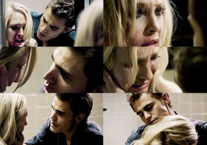Day 8 – Your favorite AU couple <br /> <br /> Stefan and Caroline