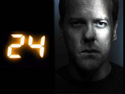 Day 26: <b>Where does 24 rank in your favorite shows of all-time?</b><br /> <br /> 24 is my favorite.
