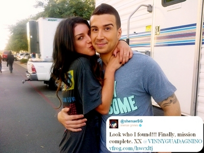 cute picture of Shenae and Vinny :)