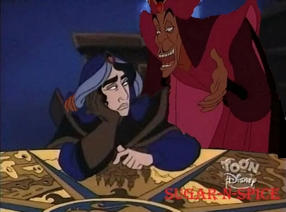 Father and Son Jafar and Mozenrath