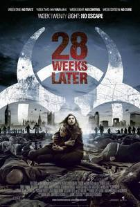 5. Favorit zombie movie This one's easy for me. I would pick 28 Weeks Later, which I feel is way be