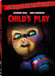 3. A horror movie that scared toi as a child child's play,i was so scared that time & i hated doll