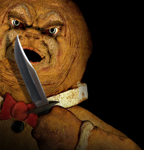 দিন 6: [b]The most ridiculous horror movie you've ever seen.[/b] The Gingerdead Man! It didn't say