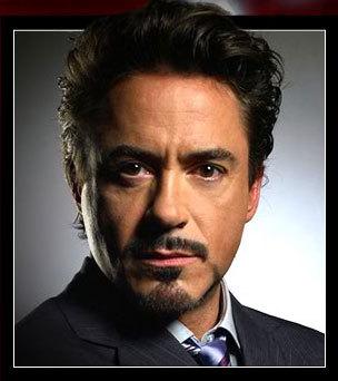 With dark hair-James Potter Robert Downey Jr.