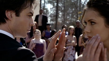♥Round two - Still from 'Miss Mystic falls' Season 1 - The Delena dance ♥