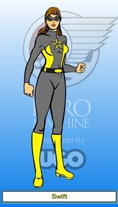 Name: mwepesi, teleka (Real Name: Alice Markhov) Age: 17 Powers/Gadgets/Weapons: Super Speed and Agility, Par