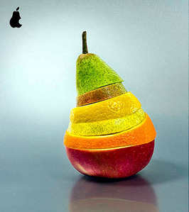 Pear in Apple style ;)