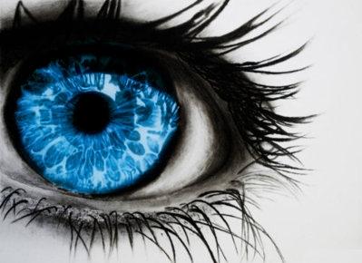blue eye :)