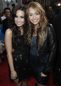 Mine.For New Round Miley with Demi Lovato.