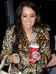 ROUND 21 IS OPEN MILEY WITH STARBUCKS
