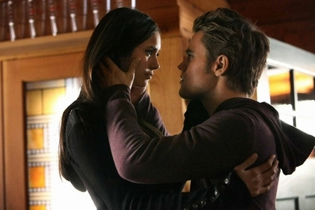 Round 5 opened! Post a pic of Stefan and Elena but not kissing <3