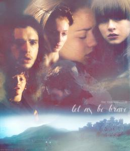 Jaqen H'ghar 239 (+) Brienne of Tarth 187 (-)