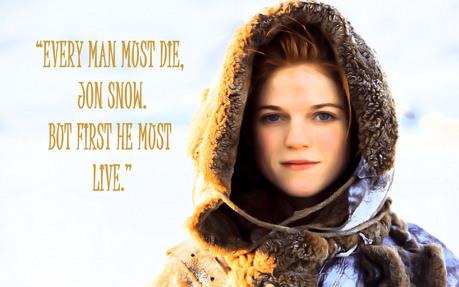 Jaqen H'ghar 270 (+) Brienne of Tarth 156 (-)
