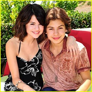 My request is: Selena and Jake T. Austin