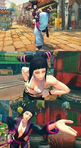 I l'amour Morrigan too, along with her little sister. Chun-Li's a real beauty, though there's another g
