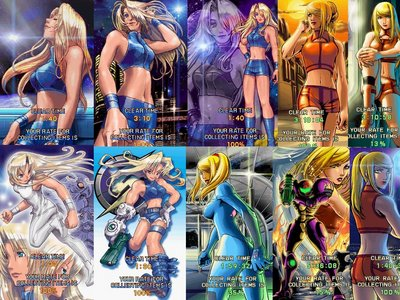 Samus is definitely hot.