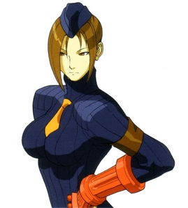 I always thought Juli was one of the más visually appealing characters from calle Fighter Alpha 3.
