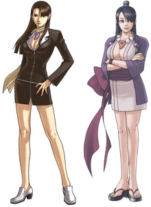 Mia Fey is so beautiful. Why'd she have to die (then again, there's always Maya)?