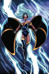 Storm may not be my favorito! X-Men character (that spot goes to both Juggernaut and, if he counts, De
