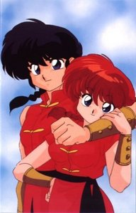 I haven't watched the Ranma 1/2 anime, but I did see one of the Film (the one where Akane is kidnap