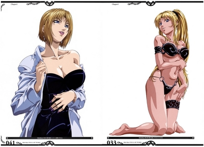Out of all the women in Bible Black, the ones I thought were the sexiest were Reika Kitami and Kaori