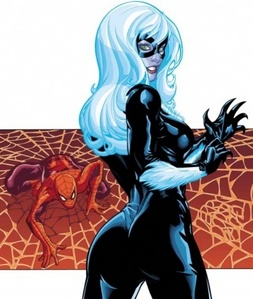 Yes, even I know of a few animated chicks. Black Cat.