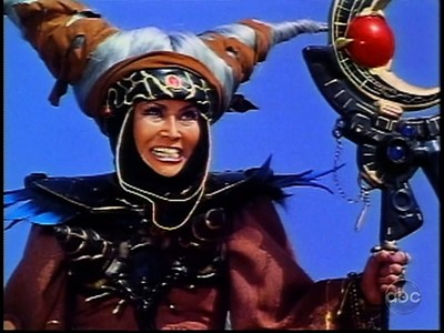 *stretches* It is good to be back. I've been watching Power Rangers recently, and Rita Repulsa (who