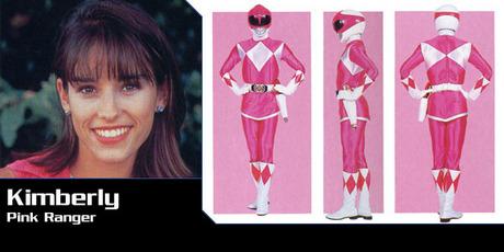 Here's the berwarna merah muda, merah muda Ranger.